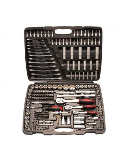 Cassetta bussole e utensili 216pz BGS15216