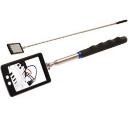 Specchio allungabile di Ispezione Led Specchietto Snodabile 285-870 mm BGS9302