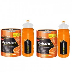 Named Hydrafit sali minerali + borraccia  2 X 400 gr