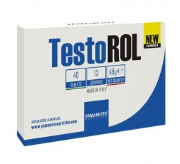 Testorol 40 cpr Yamamoto Nutrition Formula Uomo Testosterone Maca e Tribulus