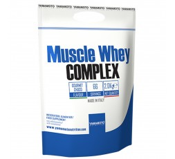 Yamamoto Nutrition Muscle Whey Complex 2000 gr 2 Kg Proteine del siero del Latte
