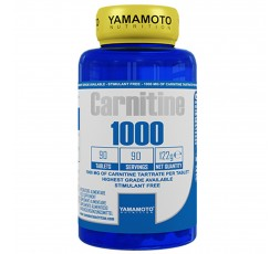 Yamamoto Nutrition carnitina 1000 Carnitine 90 compresse