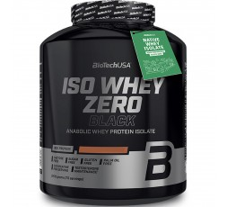 Biotech Usa Iso Whey Zero Black 2270 gr Proteine Siero Latte Isolate Gluten Free senza Lattosio Vari Gusti