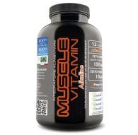 Net Integratori Muscle Vitamin Alkaline Multivitaminico e  sali Minerali alcalinizzanti 120 cpr