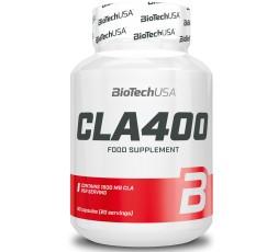 Biotech Usa Cla 400 80 caps Integratore alimentare di Acido Linoleico Coniugato