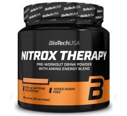 Biotech Nitrox Therapy 340 gr Pre Workout con Arginina Beta Alanina Citrullina