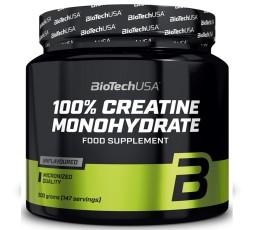 Biotech Creatine Monohydrate 500 gr. Pura Creatina Micronizzata in Polvere