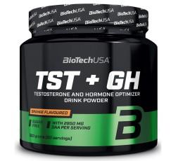 Biotech Usa TST+GH 300 gr AKG DAA glutammina zinco magnesio carnitina ornitina