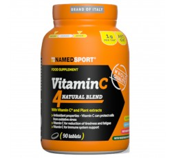 Named Sport Vitamin C 4 Natural Blend 90 cpr