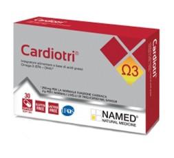 Named Cardiotri Omega 3 30 cps