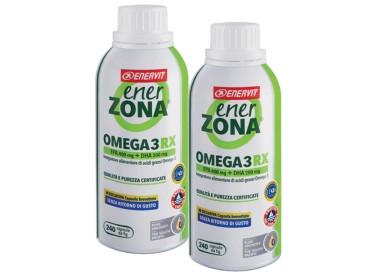 Enerzona Enervit Omega 3 Rx 2 Flaconi X 240 cps Senza Ritorno di Gusto