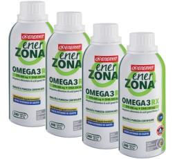 Enerzona Enervit Omega 3 Rx 4 Flaconi X 240 cps Senza Ritorno di Gusto + Omaggio