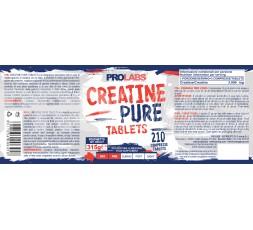 Prolabs Creatine Pure Tablets 210 cpr  Pura Creatina Monoidrato in Compresse