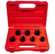Cassetta 7 bussole speciali per svitare bulloni di sicurezza nei cerchi in lega FERMEC523071