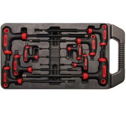 Set 9 pezzi chiavi con impugnatura BGS7882