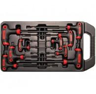 Set 9 pezzi chiavi torx con impugnatura BGS7880